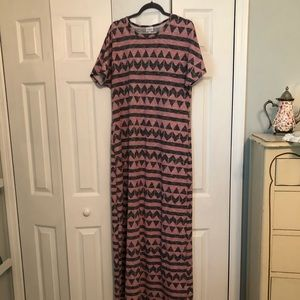 Lularoe XL Maria Dress in almost new condition